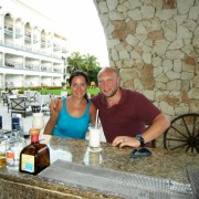 Tequila bar at the Royal Playa del Carmen